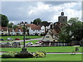 TL6832 : Finchingfield village green by nick macneill