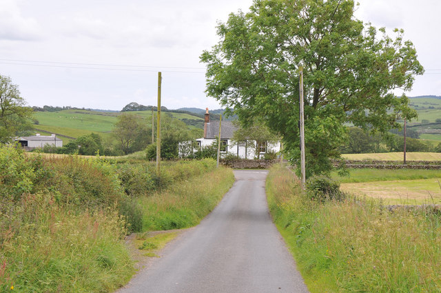 Minor road near Bonerick