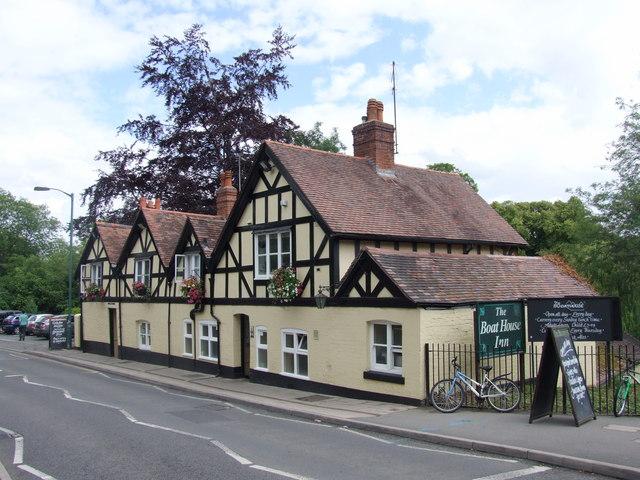 The Boat House Inn Shrewsbury Chris Whippet Geograph