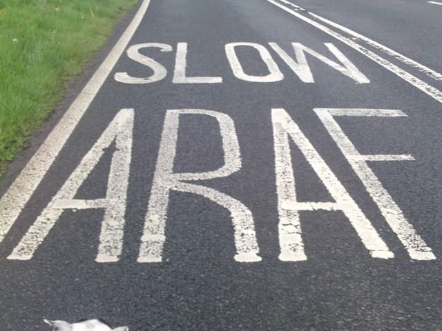 Slow Araf Phillip Perry Geograph Britain And Ireland