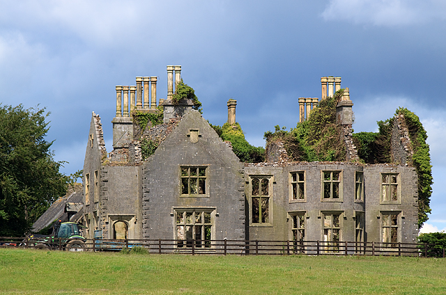 Abandoned Mansion Durrow 169 Mike Searle Geograph