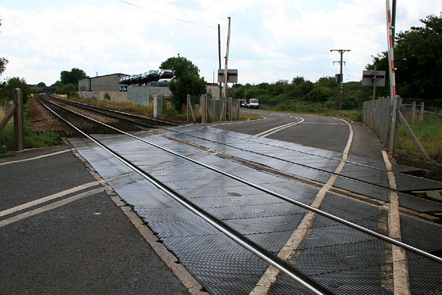 Sawley level crossing