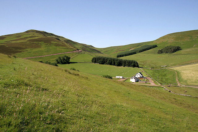 Houses at Calroust Farm