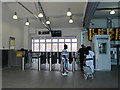 TQ2775 : Ticket barrier at Clapham Junction by Stephen Craven