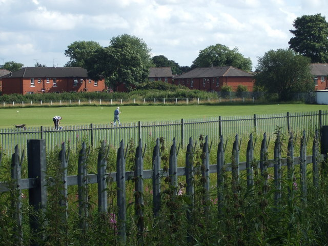Robinsons Cricket Club  from Belfield Mill Lane