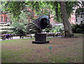 TQ2880 : Horse's Head in Mount Street Gardens, Mayfair by PAUL FARMER