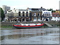 TQ2278 : Pubs on the river bank, Hammersmith by Malc McDonald