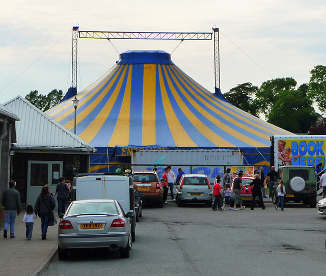 The circus comes to Portree