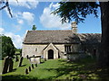 SP0701 : Ampney Crucis church by Jeremy Bolwell