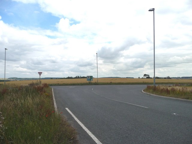 Junction of Royd Moor Lane and the Doncaster Road