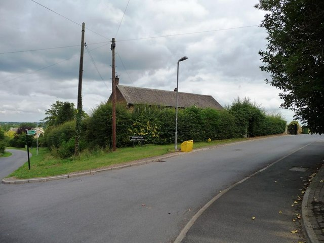 Grove Lane, Badsworth, from Ninevah Lane