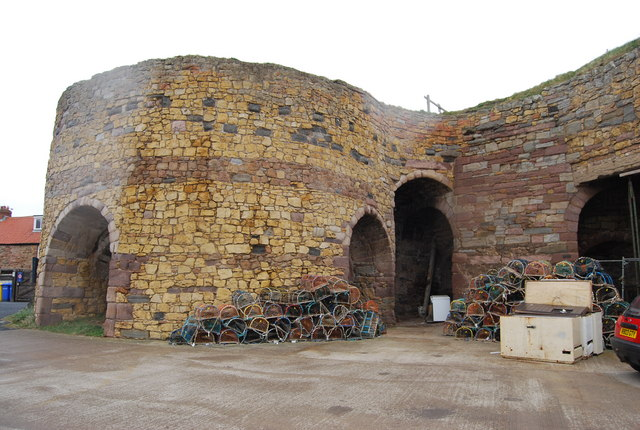 Lime Kilns, Beadnell © N Chadwick :: Geograph Britain and ...
