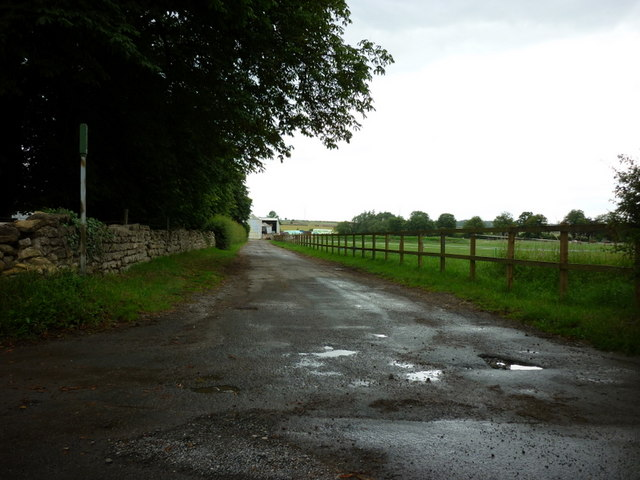 A bridleway towards Manor Farm