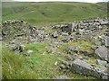SD9220 : Ruin near Cranberry Dam, Walsden. Todmorden by Humphrey Bolton