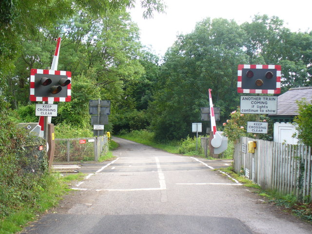 Level Crossing, Rectory Lane