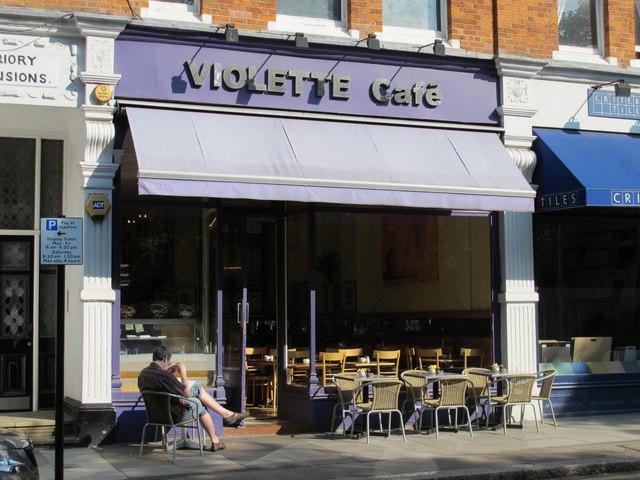 Violette Café, England's Lane, NW3