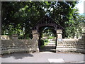 SD7405 : Lych gate, Church of St John the Evangelist, Farnworth by John Lord