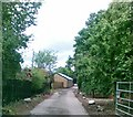 SK1000 : Access track to Cottage Farm, Little Aston by Alex McGregor