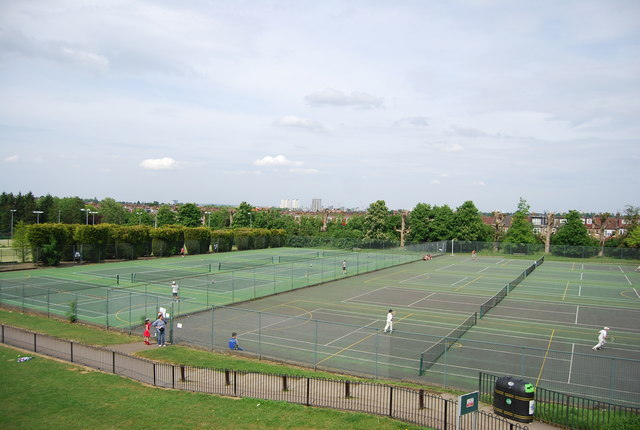 Tennis Courts, Wimbledon Park