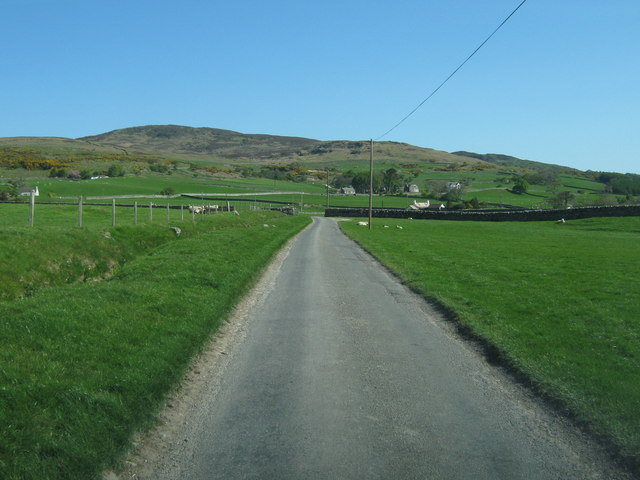 Approaching the A75