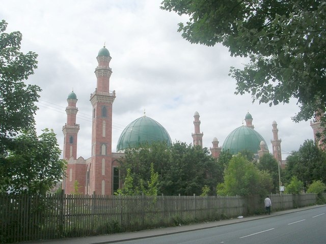 Suffa tul-Islam Central Mosque - viewed from All Saints Road