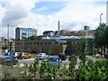 SE1532 : J B Priestley University Library - viewed from Longside Lane by Betty Longbottom
