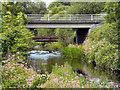 SD7210 : River Tonge, Bridge at Britannia Way by David Dixon