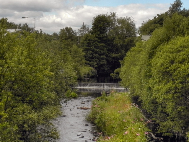 River Tonge, Weir