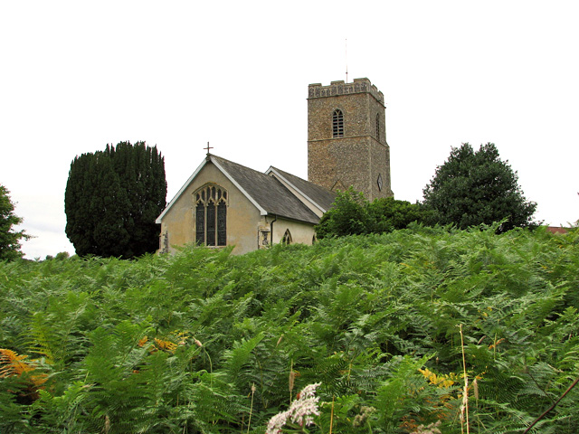 All Saints church in Great Glemham