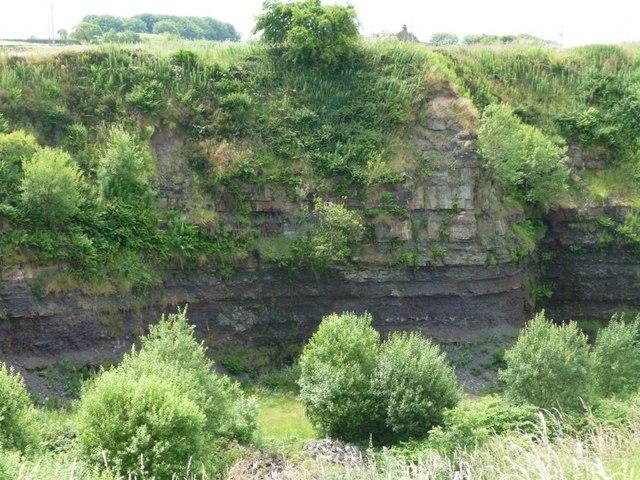 The former Black Dyke Lane Quarry