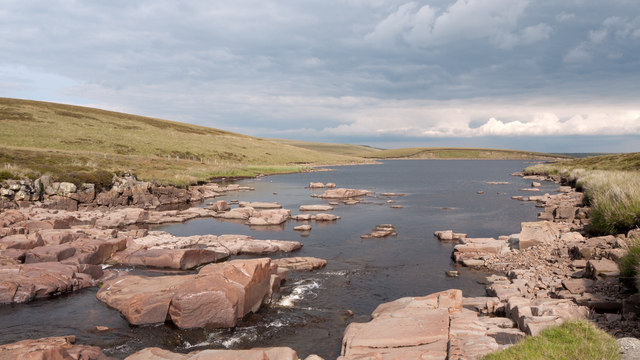 Entry of River Tees to Cow Green Reservoir
