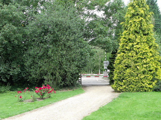 Church path, St. Margaret's, Margaretting, Essex