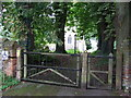 TL6857 : Church Gates by Keith Evans