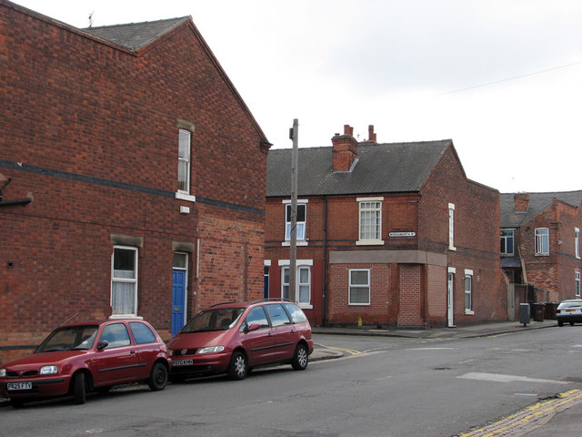 Churchfield Lane: former corner shops