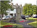 SD7122 : Hoddlesden War Memorial and Memorial Garden by David Dixon