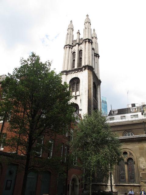 Spire of St. Michael's Cornhill