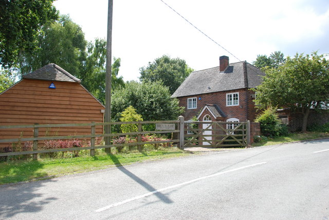 Brookhay Cottage at the side of Brookhay Bridge