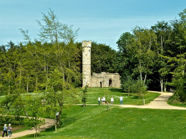 Gatehouse and Tower, Hardwick Park