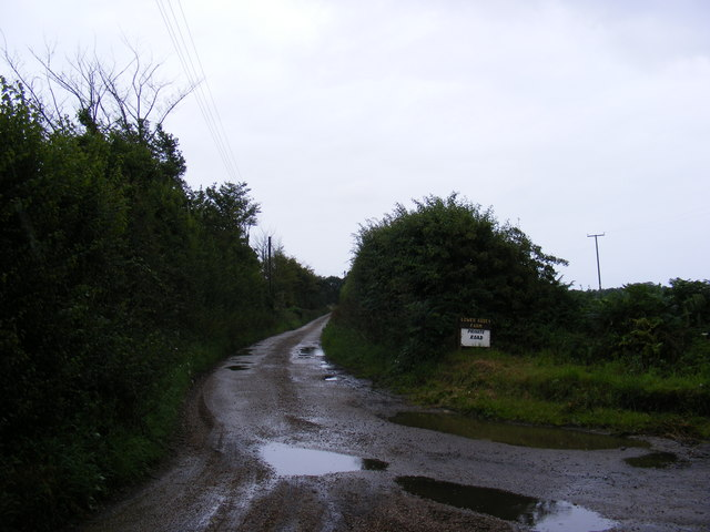 The entrance to Lower Abbey Farm