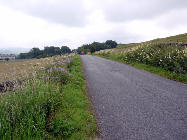 Minor road from Holwick