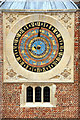 TQ1568 : Hampton Court 24 Hour Clock by Christine Matthews