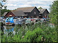 TQ1281 : Willowtree Marina by Oast House Archive