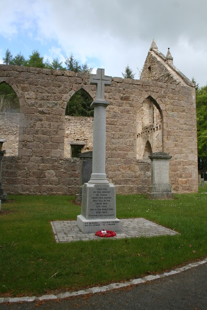 War Memorial at Blairdaff