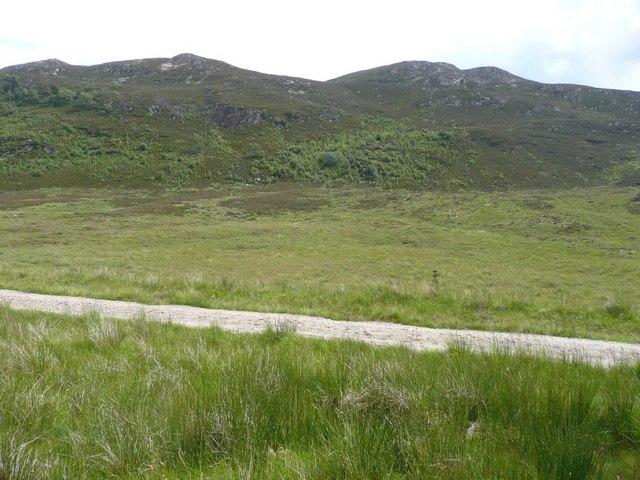 The track up Srath an Eilich
