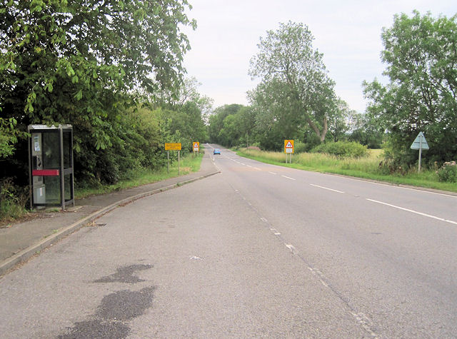 A631 at Harpswell Hill