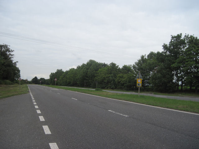 A631 just west of Scaftworth