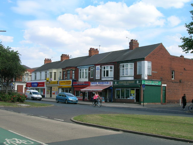 Shops on Hessle Road, Hull