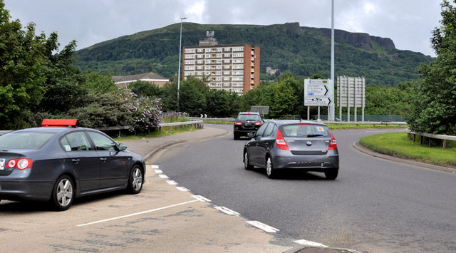 Slip-road, Fortwilliam roundabout, Belfast (4)
