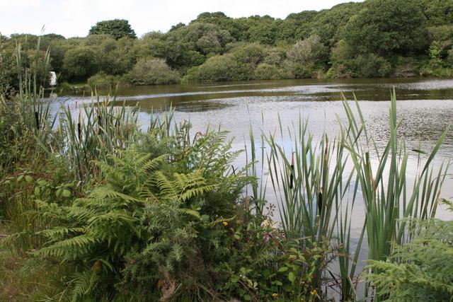 Fishing lake elizabeth scott geograph britain and ireland for Lake elizabeth fishing