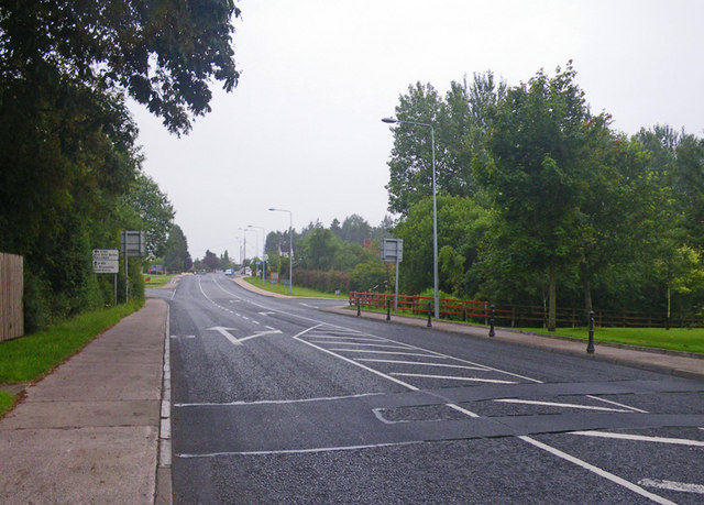 Scene near the road junction of R162 and R188